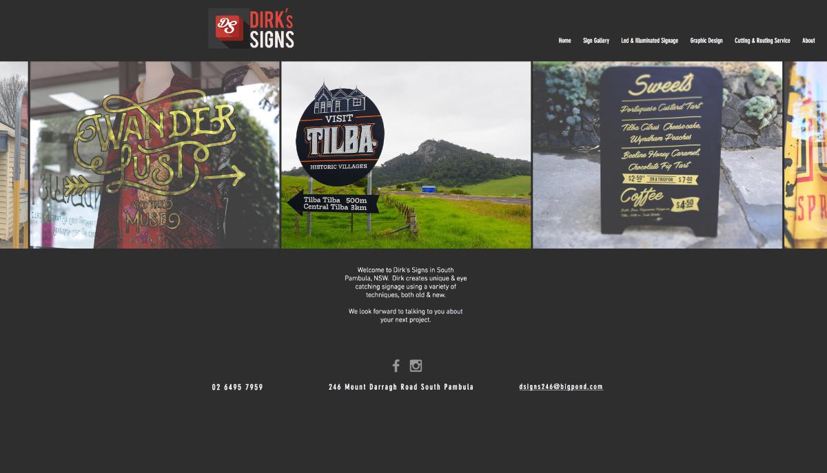 Tradies website