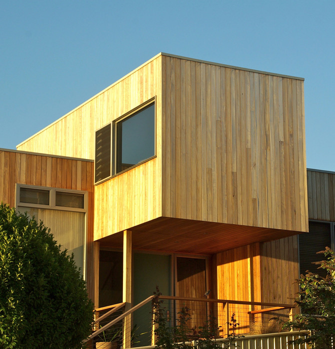 Why choose timber cladding?