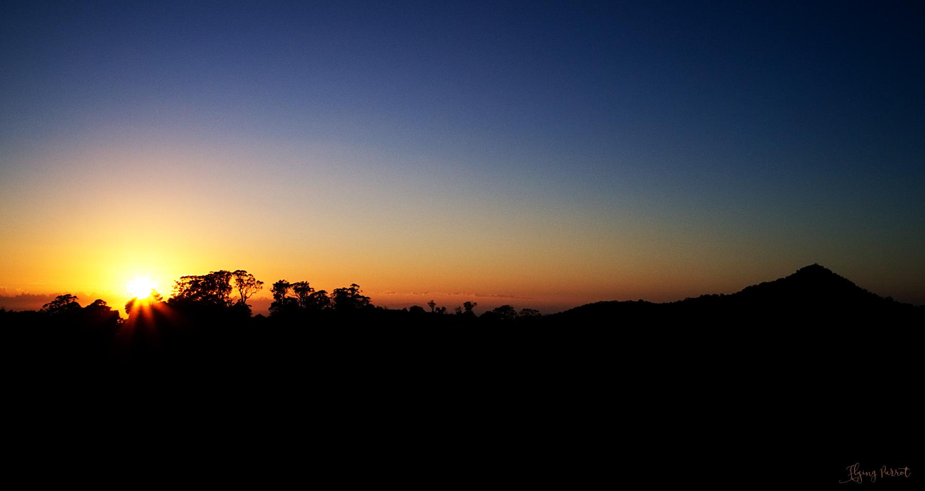 Little Dromedary Sunrise