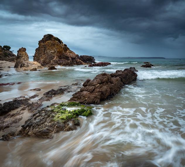 Storm over Lions Park Beach