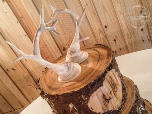 Deer Horns Cake Topper