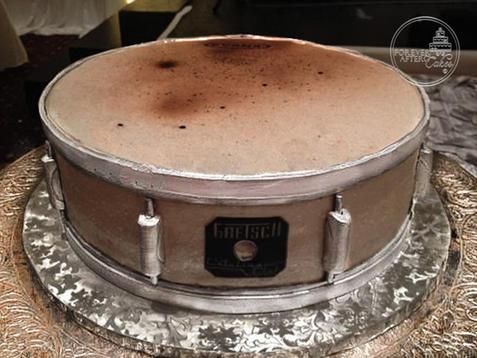 Snare Drum Groom's Cake