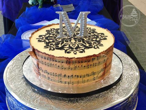 Music Groom's Cake