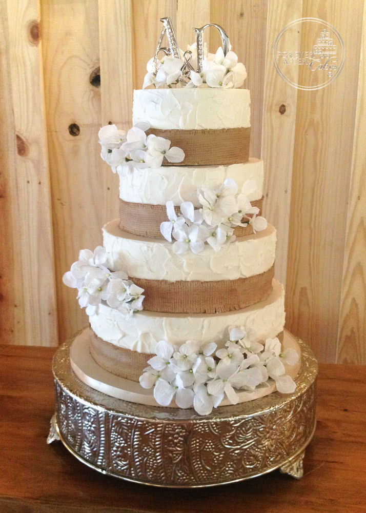 Forever After Cakes | Rustic, Shabby Chic and Vintage Wedding Cakes