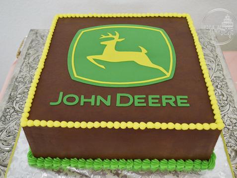 Chocolate John Deere Groom's Cake