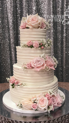 16 Textured icing with pink roses WM-1 (