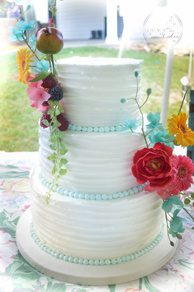 Forever After Cakes Rustic Shabby Chic And Vintage Wedding Cakes - Old Fashioned Wedding Cake
