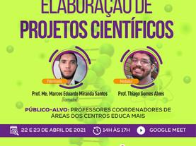 Formação em Elaboração de Projetos Científicos