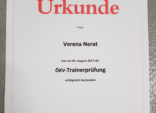 ÖKV Trainer bestanden!