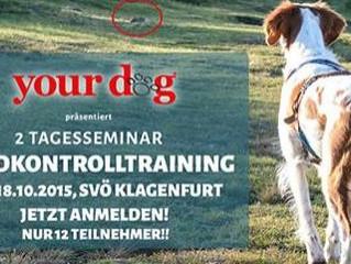 """Seminar """"Jagdkontrolltraining"""" in Klagenfurt"""
