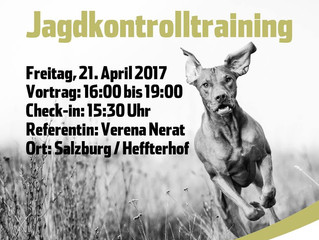 Vortrag Jagdkontrolltraining am 21.4.