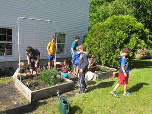 Sanbornton Public Library Embraces Community Garden