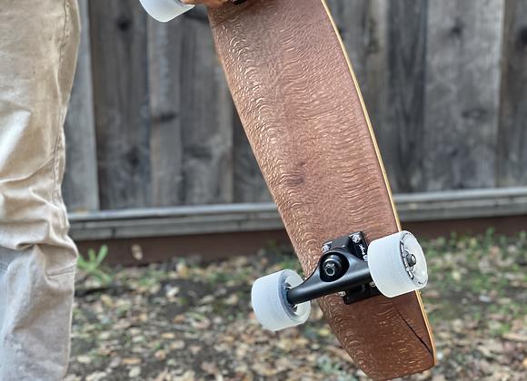 Complete Mini Cruiser Skateboard | Maple & Birch with Macadamia Wood