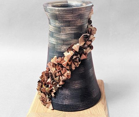 KUMU Sculpture | Ebonized Oak