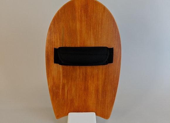 Kuahiwi Handplane | Orange Dyed Birch Top + Bamboo