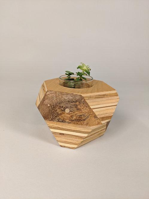 Geo Block   Plywood + Mango