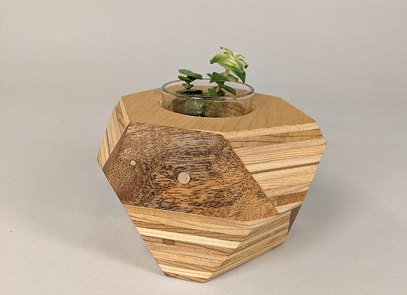 Geo Block | Plywood + Mango