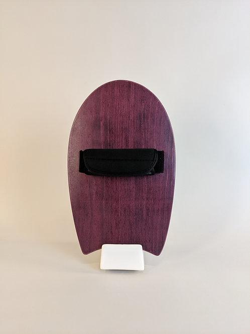 Kuahiwi Handplane | Purple Dyed Birch Top + Bamboo