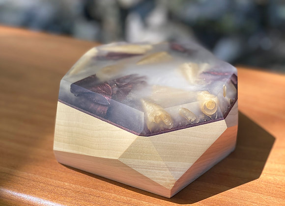 ALLAY LAMP | Poplar Base (Opt. Purple Dyed Birch)