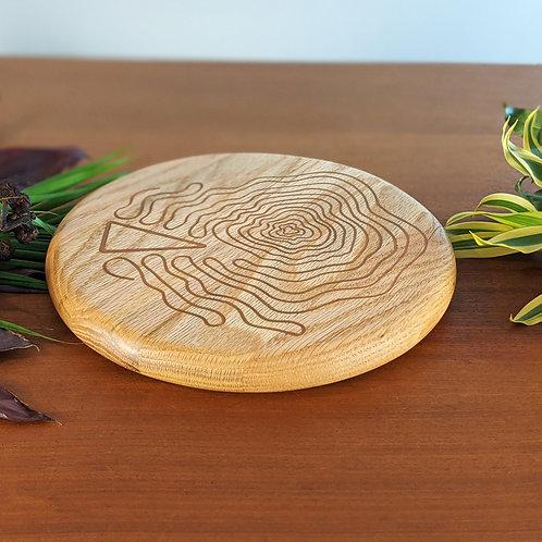 Tree Trivet | WEDGE | Red Oak