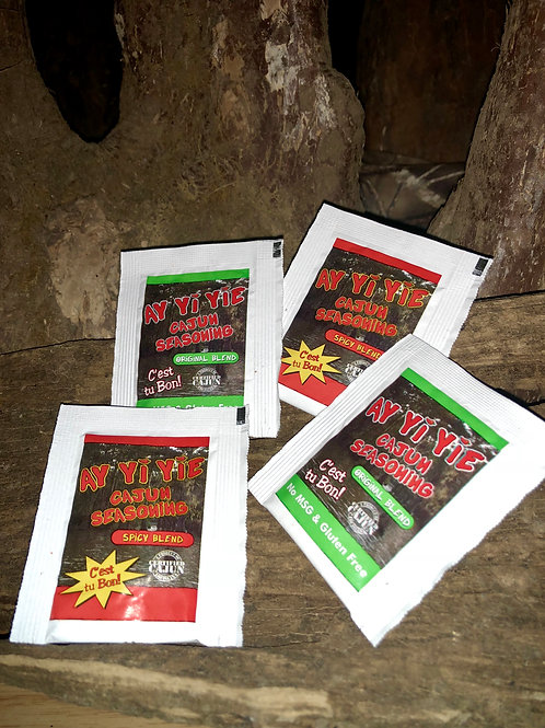 Ay Yi Yie Cajun Seasoning Mix Match travel pack
