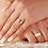 Thumbnail: Par de Alianças de Casamento em Ouro 18K Quadrada 6 mm