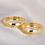 Thumbnail: Par de Alianças Casamento Ouro 18K Tradicional 3,8 mm