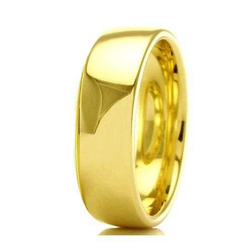 Par de Alianças de Casamento em Ouro 18k