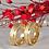 Thumbnail: Par de Alianças Ouro 14K Trabalhada 6 mm
