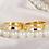 Thumbnail: Par de Alianças de Casamento em Ouro 14K Côncava 5,5 mm