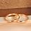 Thumbnail: Par de Alianças de Casamento em Ouro 18K Tradicional Rosé