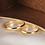 Thumbnail: Par de Alianças Casamento Ouro 14K Tradicional 3 mm
