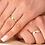 Thumbnail: Par de Alianças de Casamento em Ouro 14K com Frisos