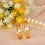 Thumbnail: Par de Alianças de Casamento em Ouro 14K Trabalhada