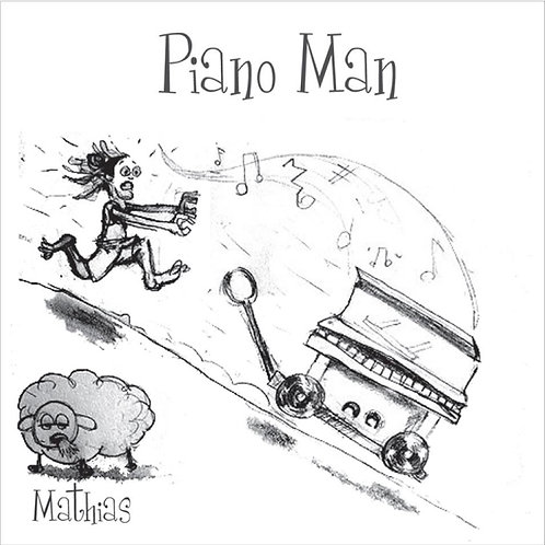 Mathias Piano Man - Physical CD