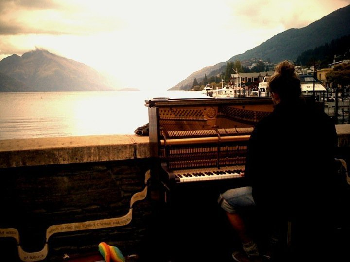 Queenstown sunset - Mathias Piano Ma