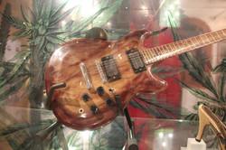 Guitar made out of hemp