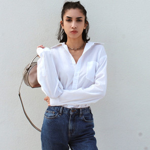 OOTD: The Classic White Button-Down Shirt