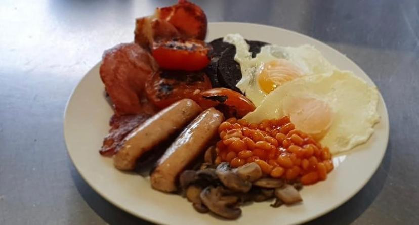 Full Breakfast on cheat day