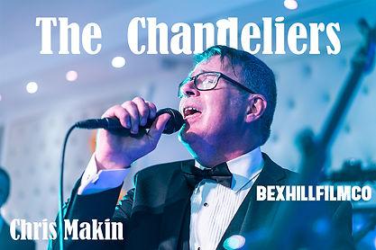 Chris Makin lead singer of The Chandeliers