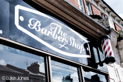 Bexhill Barber Shop Front