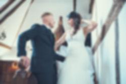 Wedding Couple at Milward Estate