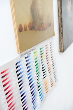 Isabelle de La Touche - artiste peintre suisse - Genève - gamme de couleur Old Holland