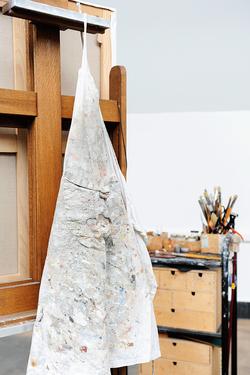 Isabelle de La Touche - artiste peintre suisse - Vaud - atelier de la peintre