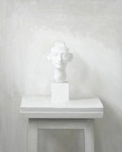 Isabelle de la Touche peintre - Nefertiti - huile sur toile