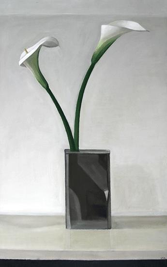 Isabelle de La Touche peintre suisse - Lausanne - calas alcatraz - huile sur toile - inspiration Die