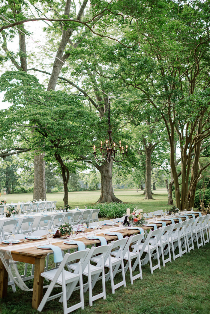 Handmade and Preppy Garden Wedding