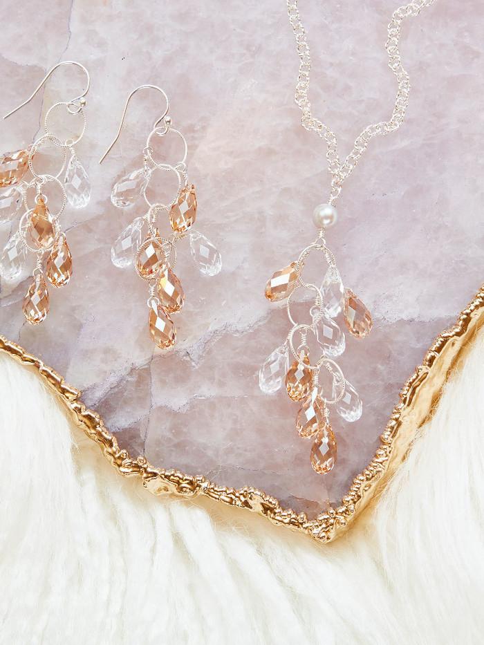 The Elkington Necklace & Earrings