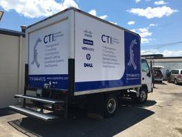 CTI Box Truck Vehicle Wrap