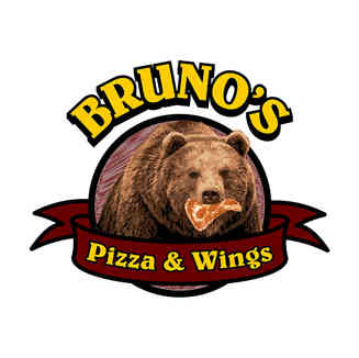 Bruno's Pizza and Wings Logo
